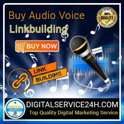 Buy Audio Voice Link building