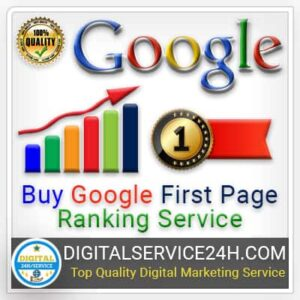 Buy Google First Page Ranking service