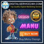 Buy Menu Design