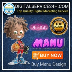 Buy Menu Design