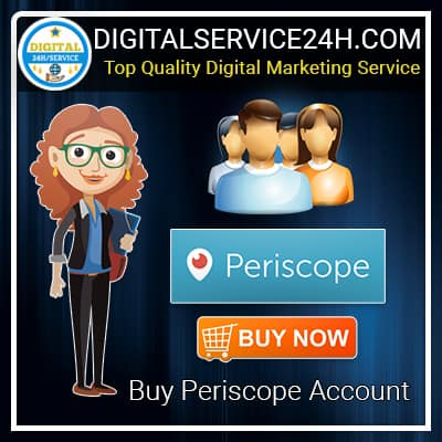 Buy Periscope Accounts