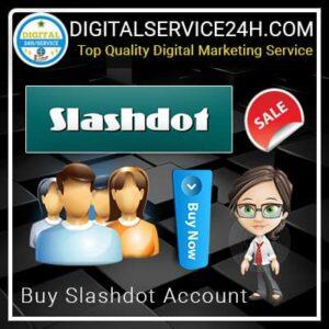 Buy Slashdot Accounts